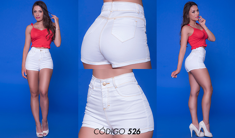 SHORT BASIC WHITE